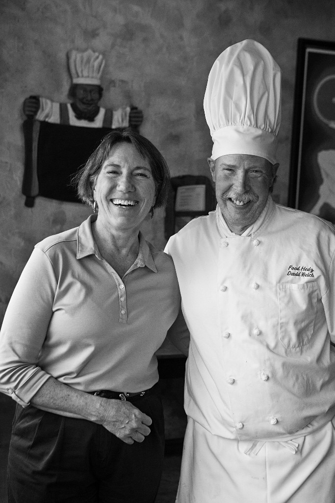 Chef David and wife Patti