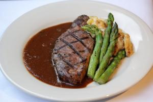 Grilled Petite Filet of High Country Elk Tenderloin